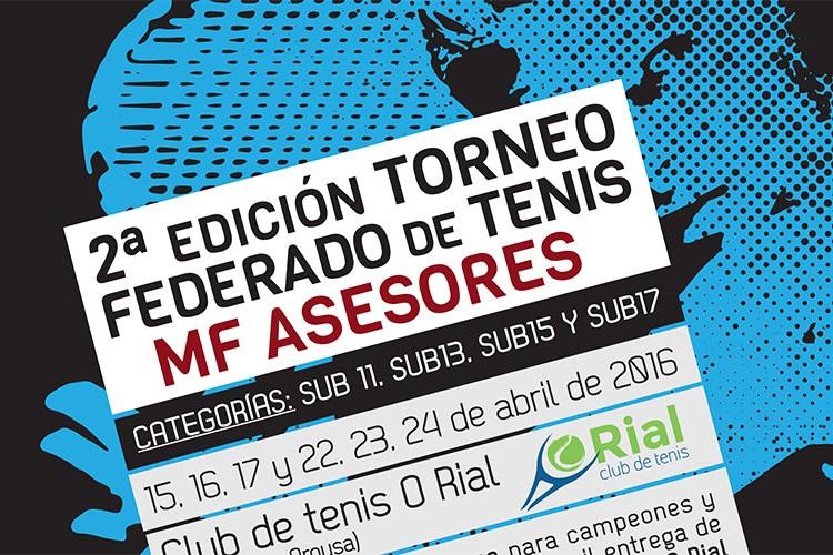 Segunda edición Torneo MF Asesores Club Tenis Rial