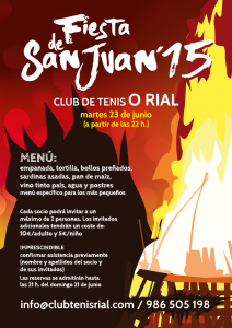 San Juan 2015 CLub de Tenis O RIal