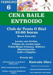 Cena baile Entroido 2016