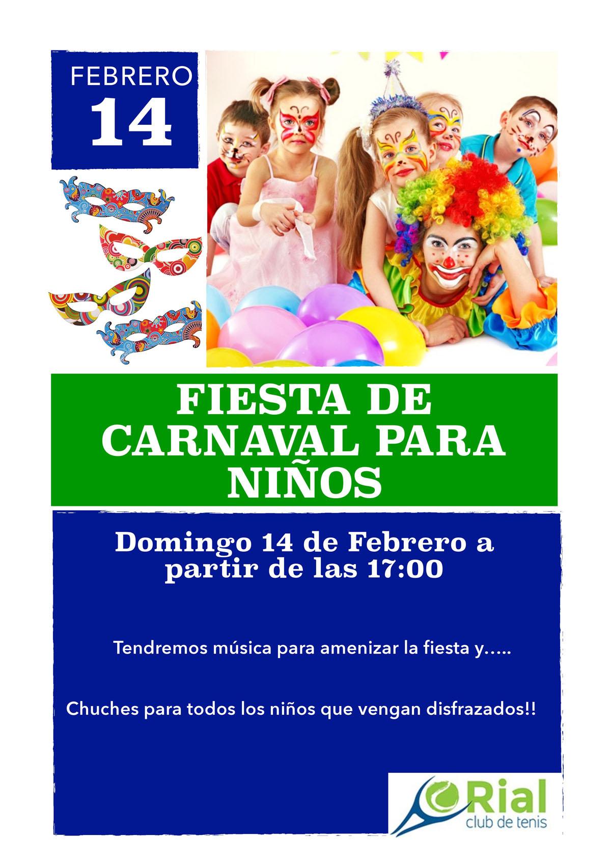 Fiesta de carnaval para niños 2016