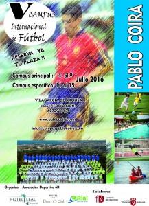 V Campus internacional de fútbol Pablo Coira