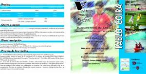 Precios V Campus internacional de fútbol Pablo Coira