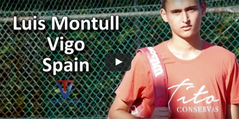 College Tennis Recruitment - Luis Montull