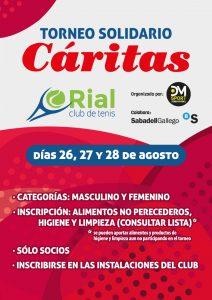Torneo Cáritas Club Tenis O Rial 2016